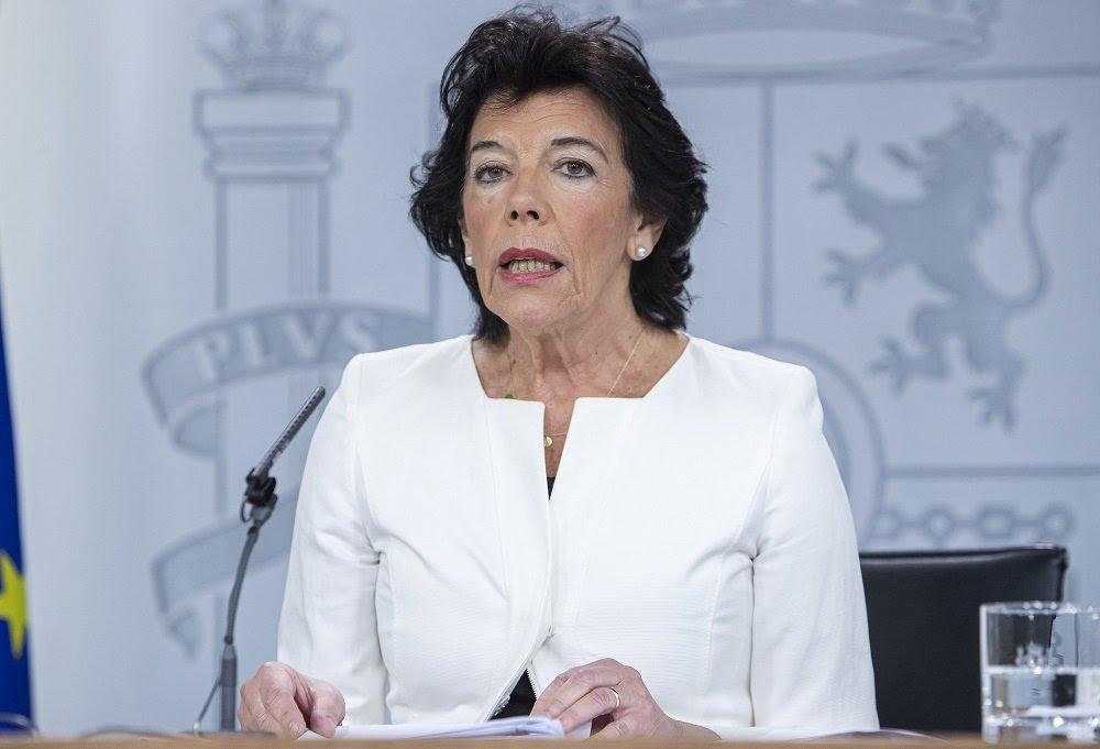 Isabel Celaá repite como ministra de Educación y Formación Profesional, pero no como portavoz del Gobierno de coalición