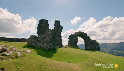 Does Castell Dinas Bran Have an Arthurian Castle Resting Beneath? image