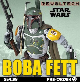 STAR WARS REVOLTECH BOBA FETT