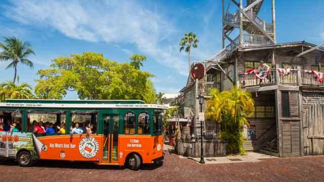 Trolley Tour in Key West