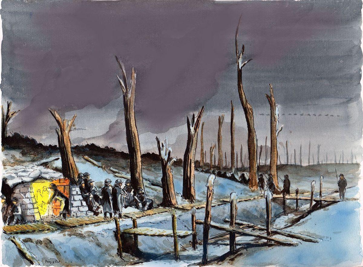 Noël dans les Tranchées par Louis Perez Y Cid