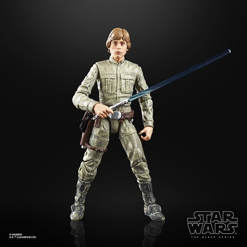 Image of Star Wars The Black Series Empire Strikes Back 40th Anniversary 6-Inch Luke Skywalker Bespin Action Figure Wave 1 - MAY 2020