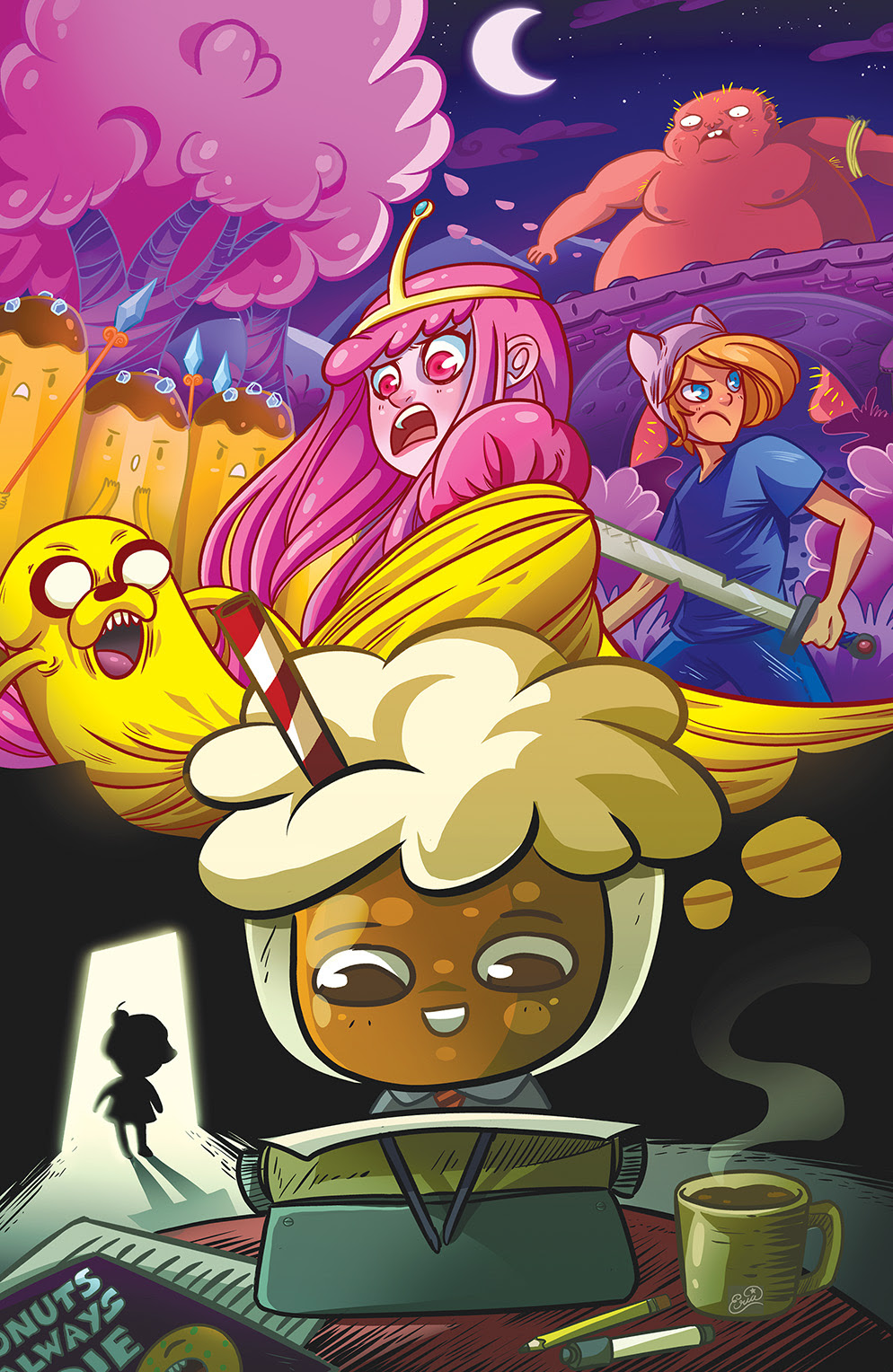 ADVENTURE TIME: BANANA GUARD ACADEMY #2 Cover C by Eva Cabrera