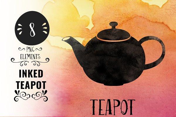 Inked Teapot