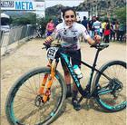 Giuliana Morgen logo após a conquista de bicampeã pan-americana no México (Divulgação)