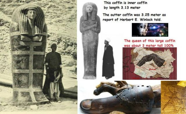 Egyptian Pharaohs Were Extraterrestrial Origin and Were Giants