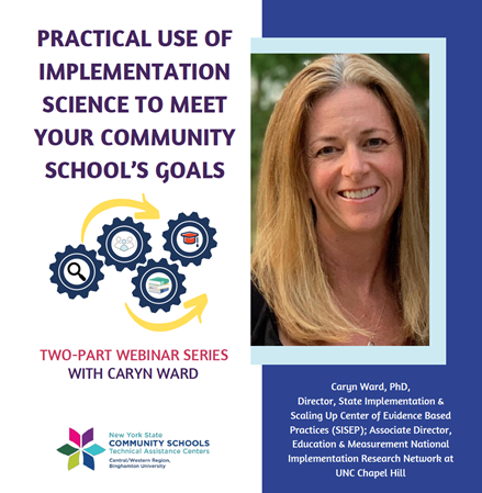 Practical Use of Implementation Science to Meet your Community School_s goals