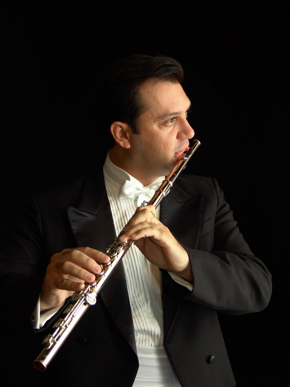 Recital de flauta e piano em Tatui