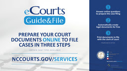 eCourts Guide & File sign