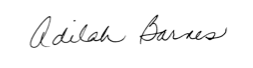 adilah signature
