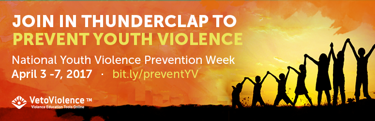 Join Thunderclap to Prevent Youth Violence