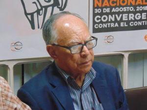 Mario Membreño, dirigente de la CCC