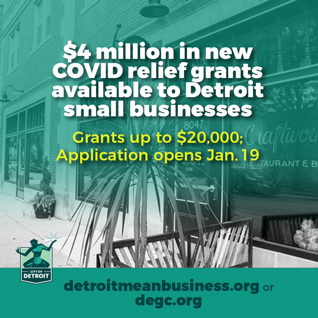$4 Million Available to Detroit Small Businesses
