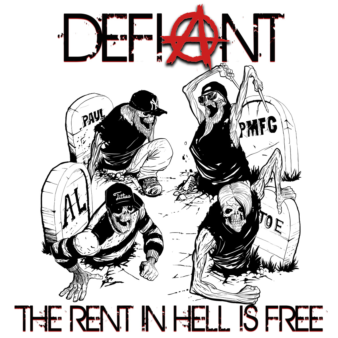 Defiant The Rent In Hell Is Free Cover Art