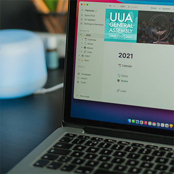 laptop with a 2021 calendar on the screen - Photo by Filip Baotić on Unsplash