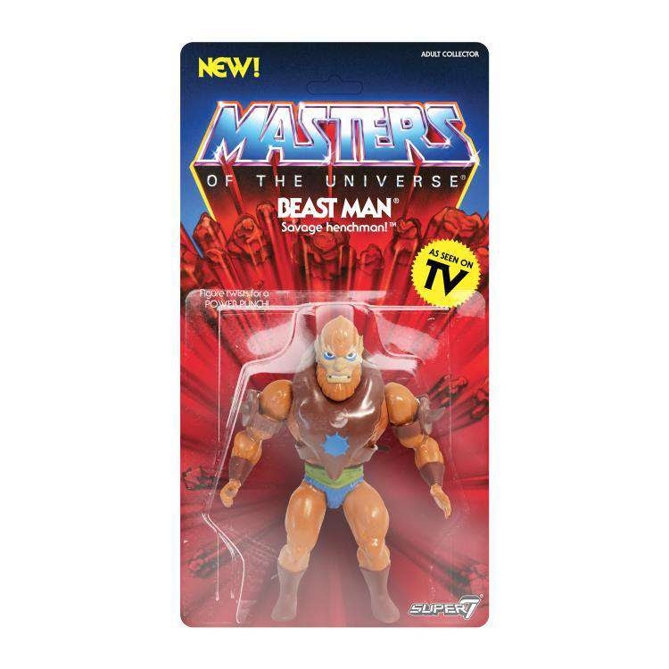 Image of Masters of the Universe Vintage Wave 2 - Beast Man - SEPTEMBER 2019