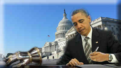 Gauntlet is thrown; Obama spurns the People, Congress