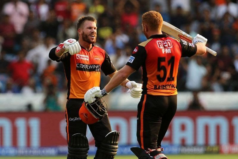 David Warner and Jonny Bairstow are a potent combo