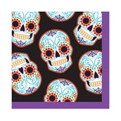 Day of the Dead Halloween Beverage Napkins