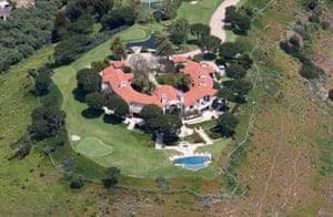 Teodorin Obiang's Malibu estate