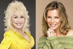 Dolly Parton (left) and Cheryl Ladd are two Hollywood celebrities who are followers of Jesus Christ.