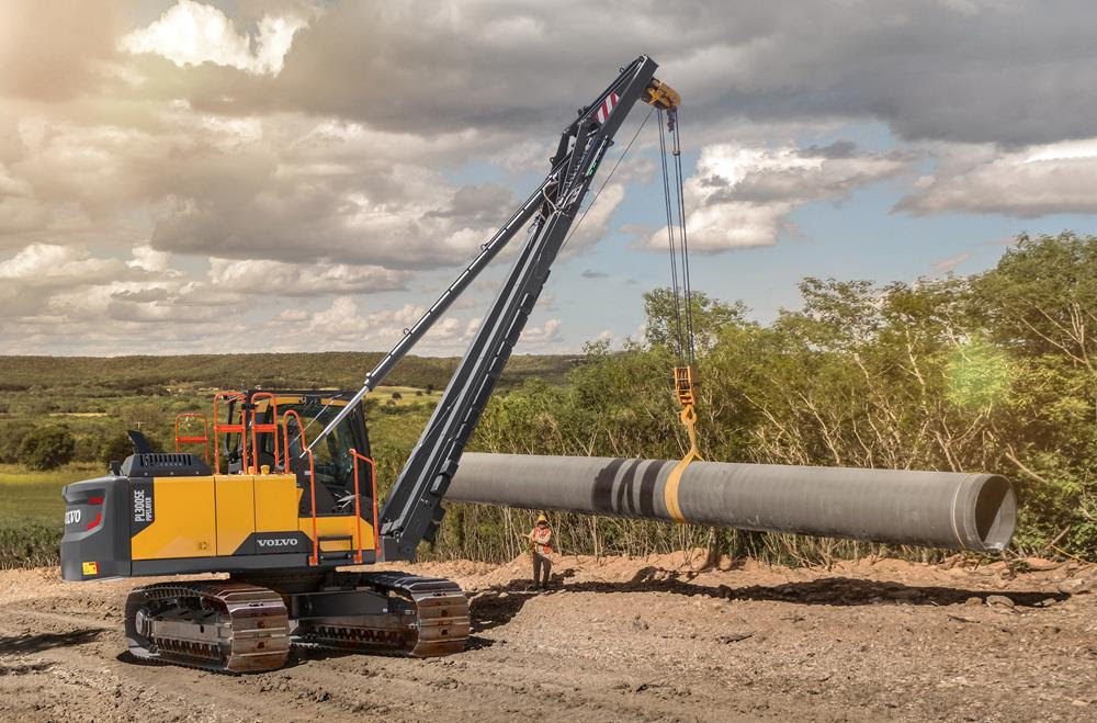 Volvo PL3005E rotating pipelater