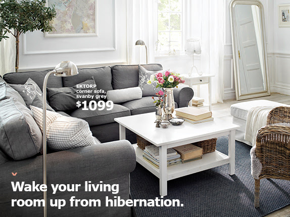 Wake your living room up from hibernation.