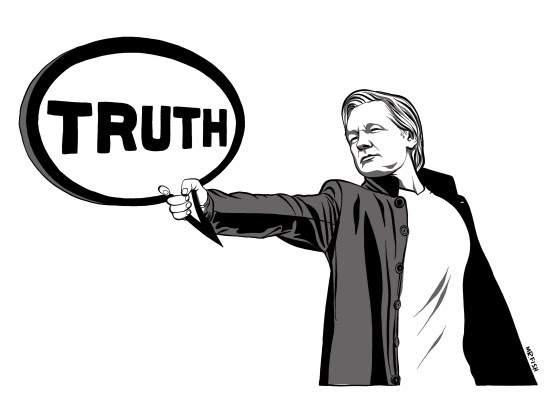 Julian Assange & the Collapse of the Rule of Law  Julian-1