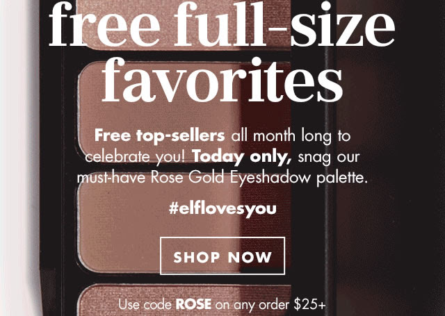 free full-size favorites