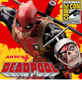 DEADPOOL ARTFX+ SDCC 2015 EXCLUSIVE