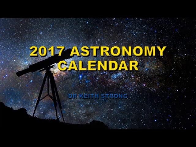 2017 ASTRONOMY EVENTS CALENDAR  Sddefault