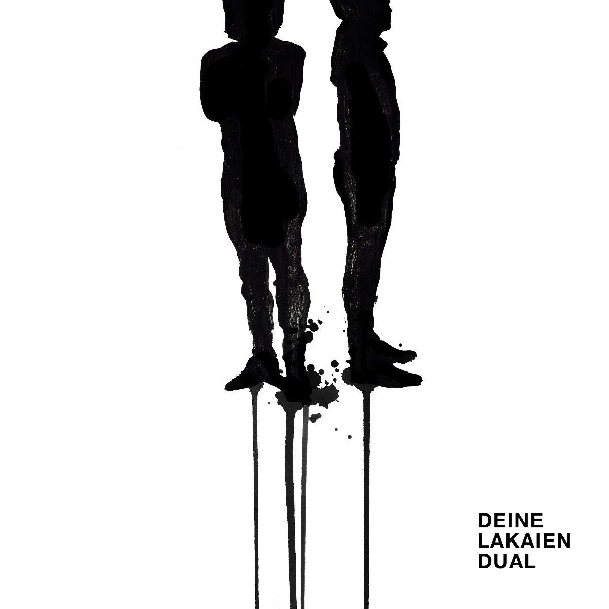 """DEINE LAKAIEN album cover """"Dual"""""""