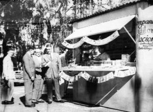 Feira do Livro Porto Alegre 1955 / Arquivo Correio do Povo