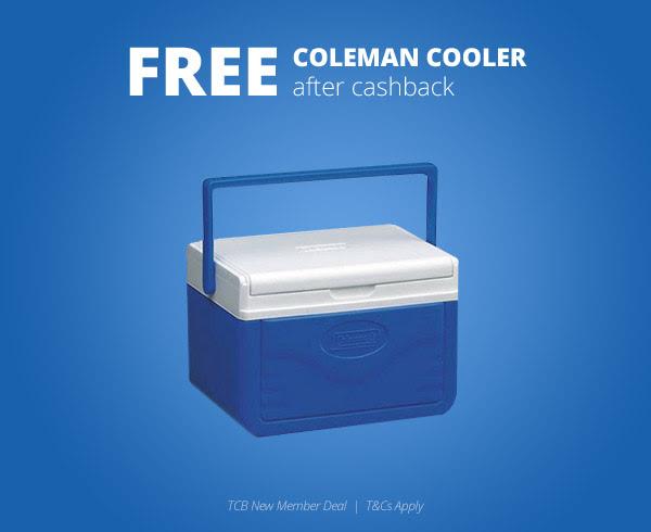 FREE Coleman 5-Quart Cooler!