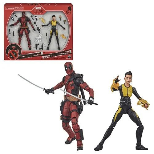 Image of X-Men Marvel Legends Deadpool and Negasonic Teenage Warhead 6-Inch Action Figure 2-Pack - OCTOBER 2020