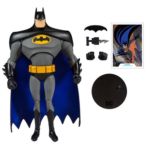 "Image of DC Animated 7"" Action Figure Wave 1 - Batman (TAS)"