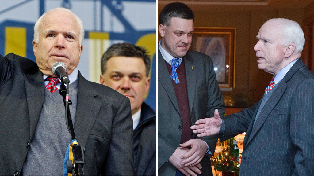 "Just Stop It: John McCain is Not a ""Great Man"" or a ""War Hero"""