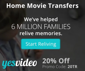 300x250 YesVideo 20% Off Coupon Special