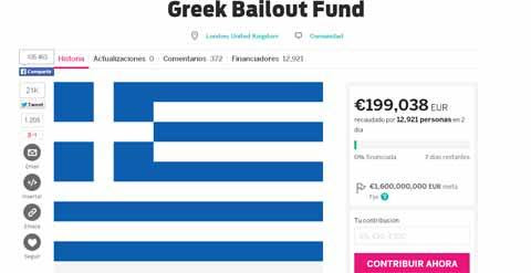 Captura de pantalla de la web que aloja la propuesta de 'crowdfunding'.