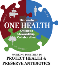 One Health Antibiotic Stewardship Logo