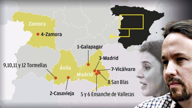 Los 'ricos herederos' Iglesias y Montero acumularán un patrimonio de 12 inmuebles valorado en 2,7 millones