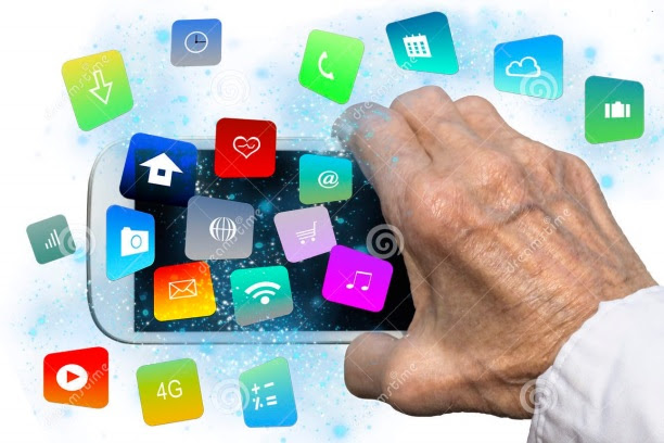 elderly-hand-holding-smartphone-modern-colorful-floating-apps-icons-selective-focus-68334994