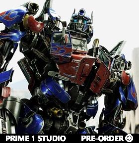 Transformers: Revenge of the Fallen Museum Masterline Optimus Prime Statue