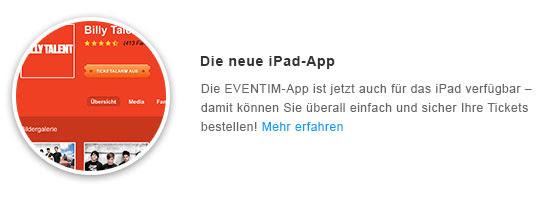 Die neue iPad-App
