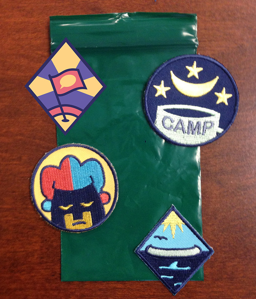 Lumberjanes Badges - SDCC