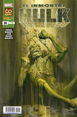 El Increíble Hulk Vol. 2 / Indestructible Hulk / El Alucinante Hulk / El Inmortal Hulk (2012-) (Grapa) #110/34