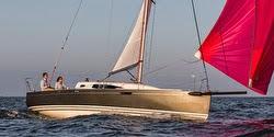 J/97E sailing under spinnaker