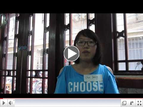 Chen Jialing Presents Her Need in English. Hear Her Own Words.