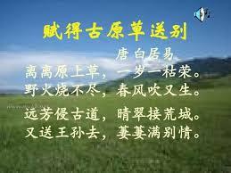 Image result for 白居易。草