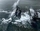 Ice melts on Matterhorn